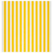 СОФИА Ткань,в широкую полоску,белый/желтый